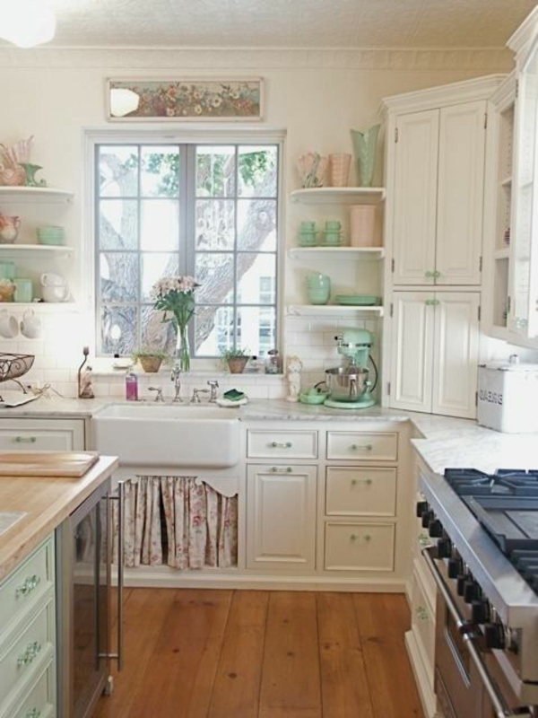kleine-cool-gestaltete-vintage-küche