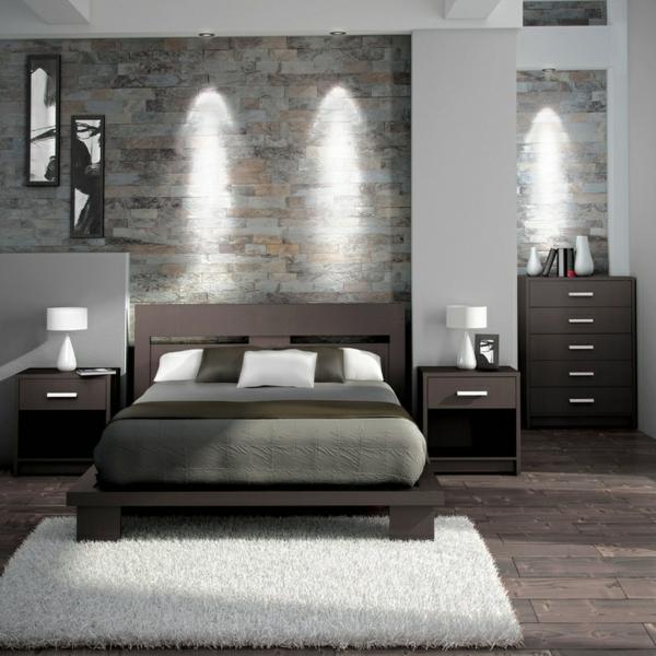 komplett schlafzimmer inspiration gestaltungsideen wandgestaltung - Schlafzimmer Set Ideen Modern