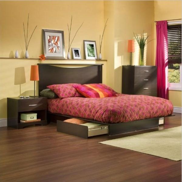 Beautiful Gestaltungsideen Schlafzimmer Edel Ton Halten ...
