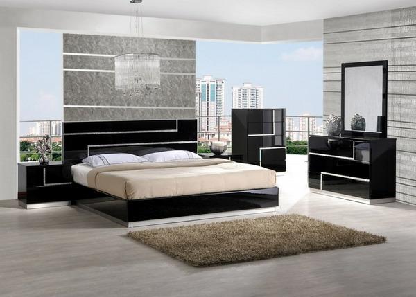 Komplett Schlafzimmer Inspiration Gestaltungsideen Wandgestaltung  Schlafzimmer Set ...