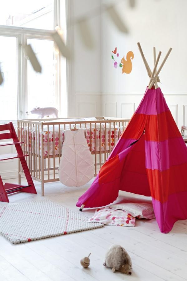 kreative-ideen-zur-einrichtung-im-hause-design-ideen-rotes-zelt