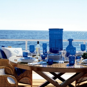 Tischdeko in Blau - faszinierende Ideen!