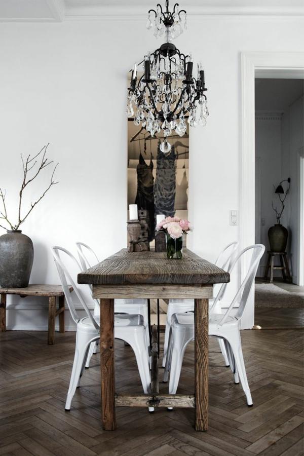 landhausmöbel-vintagemöbel-vintage-esszimmer-tolle-einrichtungsideen-