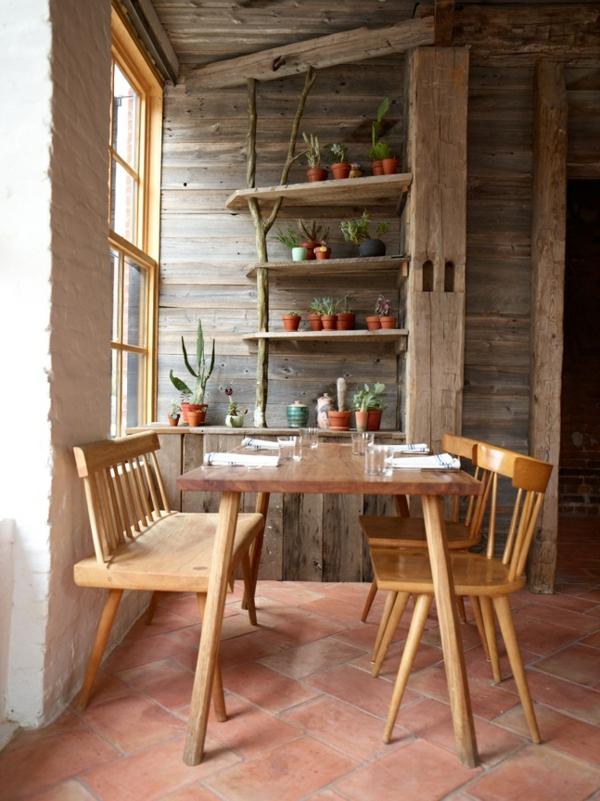 landhausmöbel-vintagemöbel-vintage-esszimmer-tolle-einrichtungsideen