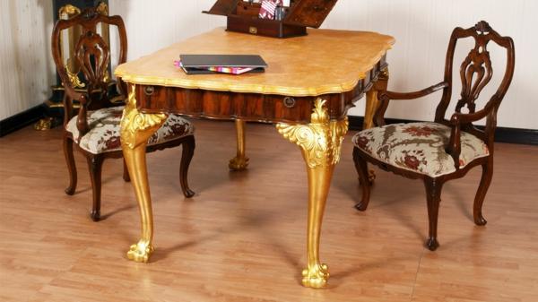 lassen sie sich von dem barock tisch inspirieren. Black Bedroom Furniture Sets. Home Design Ideas