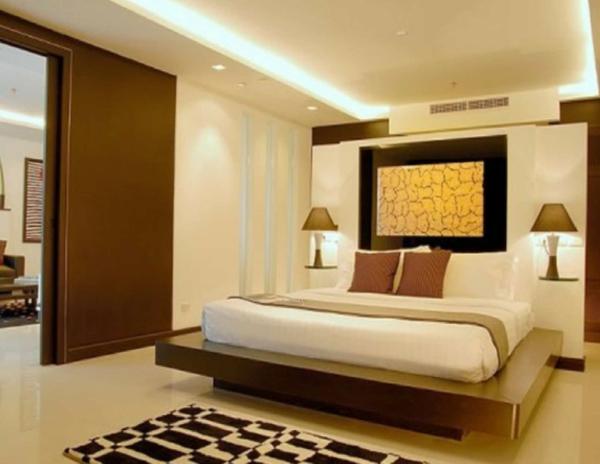 Moderne asiatische betten elegantes schlafzimmer ein sehr schönes