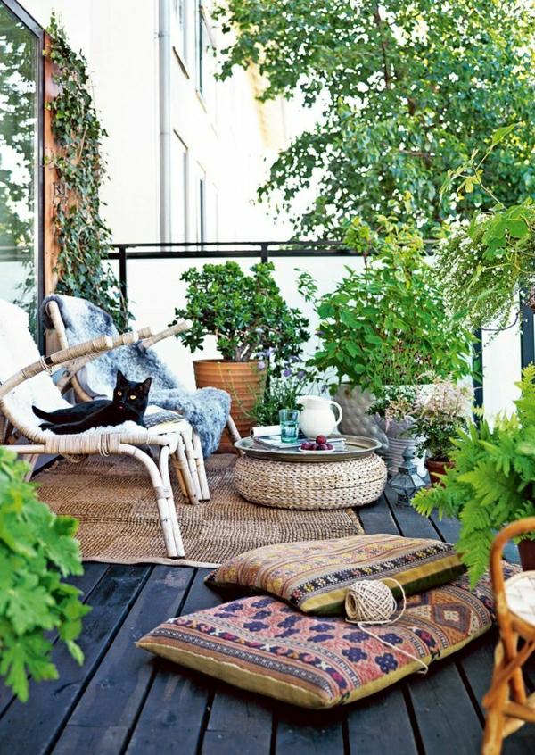 moderne-balkonmöbel-balkon-verschönern-balkon-deko-ideen-balkongestaltung
