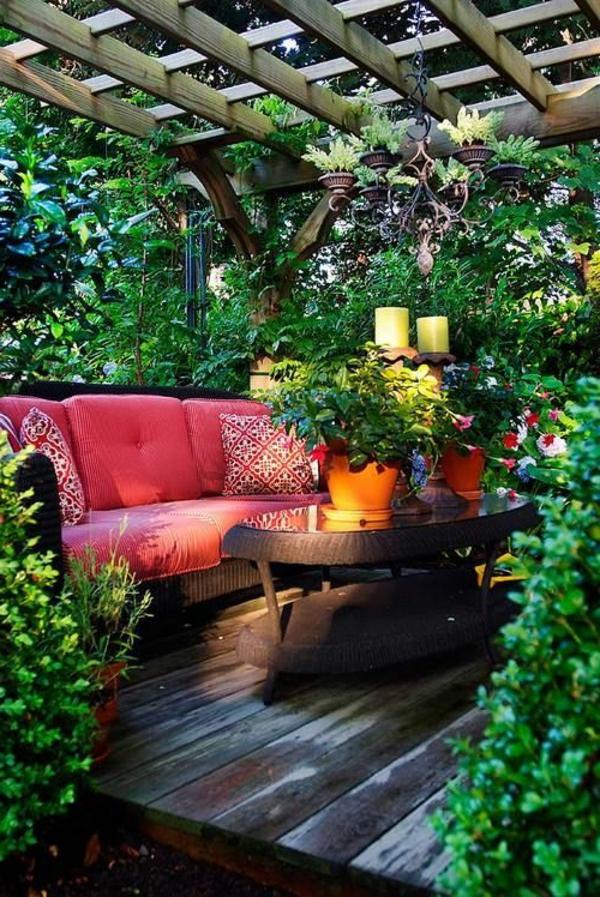 Sitzecke im Garten - Relax im Grünen! - Archzine.net