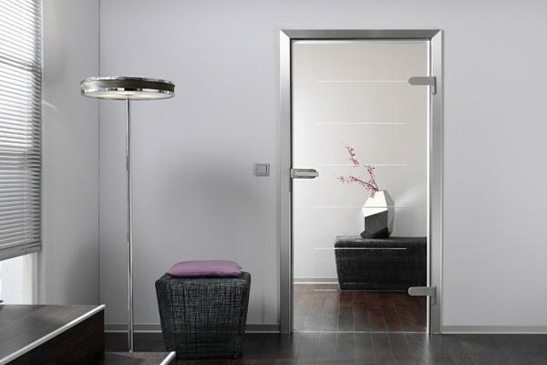 Sichtschutzfolie Fur Glasturen : moderne-glasschiebetür-innendesign ...