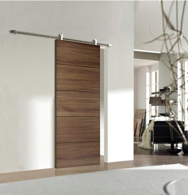 Schiebet ren aus holz eine tolle option f r den wohnraum for Porte interieure moderne design