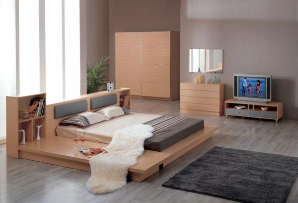 moderne-schlafzimmermöbel-schlafzimmer-ideen-schlafzimmer-set-holz