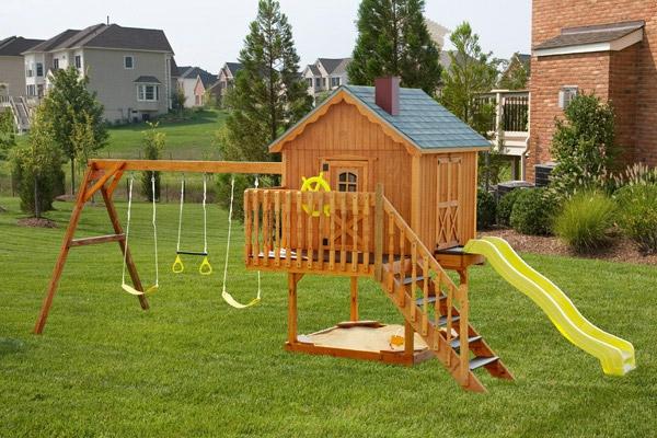 Spielhaus Garten Ideen war schöne stil für ihr wohnideen