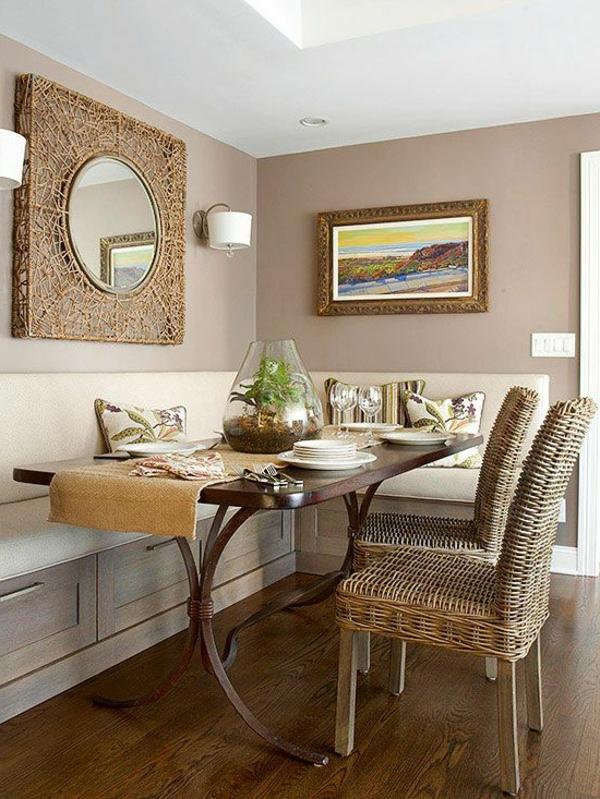 Sitzbank im esszimmer eine sch ne idee for 12x12 living room ideas