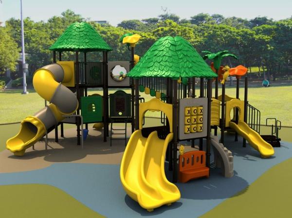 moderner-spielplatz-tolle-ideen-zur-gartengestaltung-mit-spielgeräten
