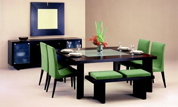 modernes--esszimmer-möbelset-esszimmerstühle-esszimmertisch-design-ideen
