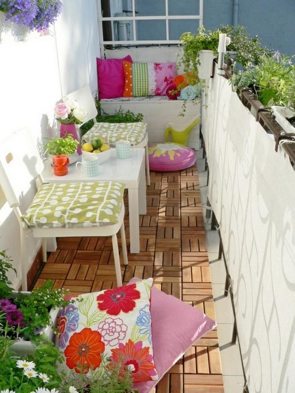 wundersch ner balkon deko ideen zur inspiration. Black Bedroom Furniture Sets. Home Design Ideas