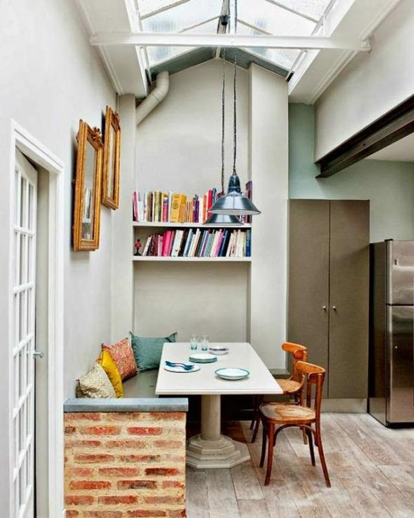 originelles--interior-design-ideen-sitzbank-holz-im-esszimmer