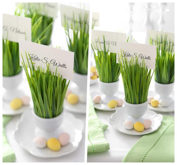 ostersachen selber machen, kleine eier,tischnamen basteln, tisch dekorieren zum ostern