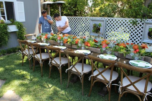 Tischdeko Fur Gartenparty | Möbelideen