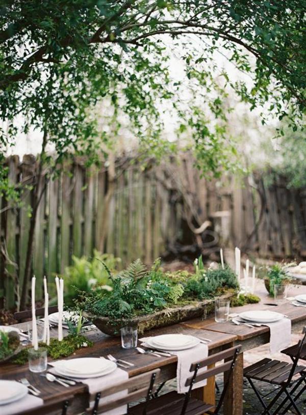 Fantastische deko ideen f r eine gartenparty - Gartenfeier deko ...