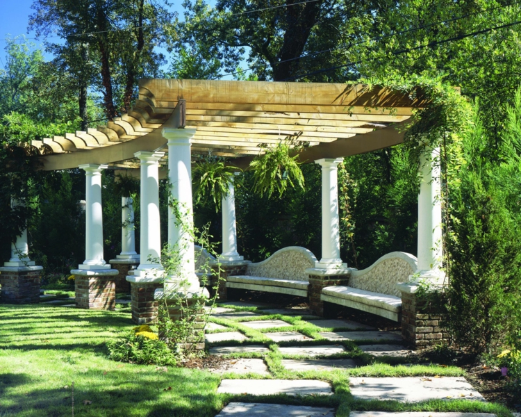 pergola dach die herausragendsten designideen. Black Bedroom Furniture Sets. Home Design Ideas