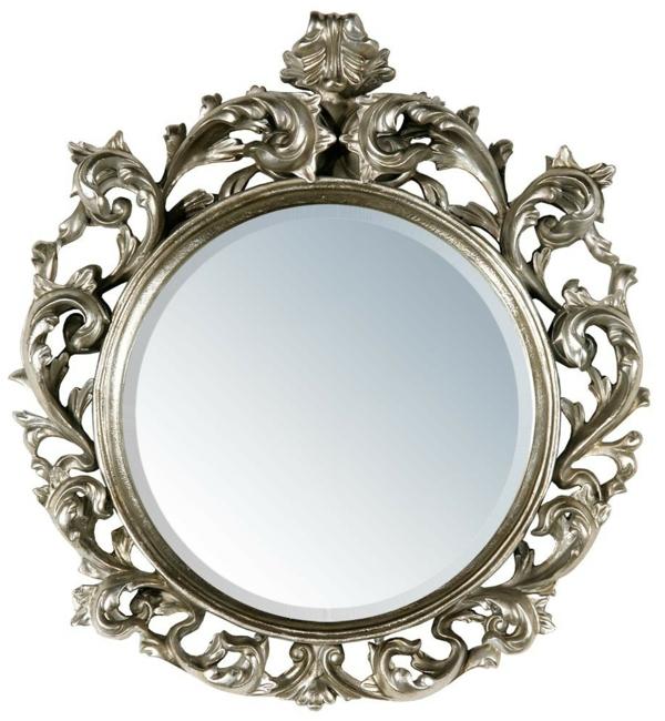barockspiegel - rundes schönes modell