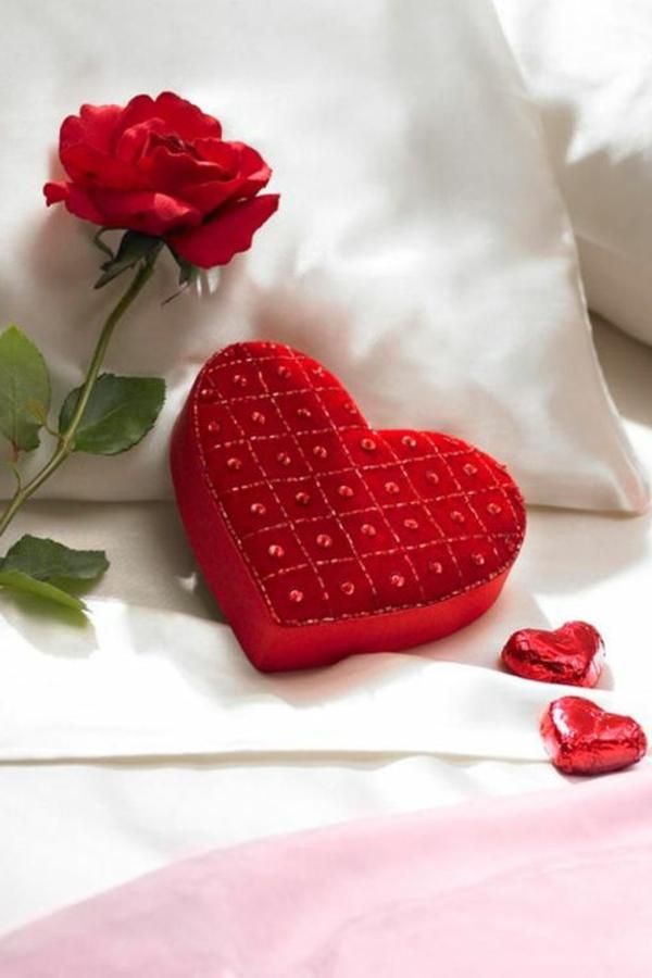 Romantische überraschung Romantische Liebe Inspiration Valentinstag Ideen  Zum