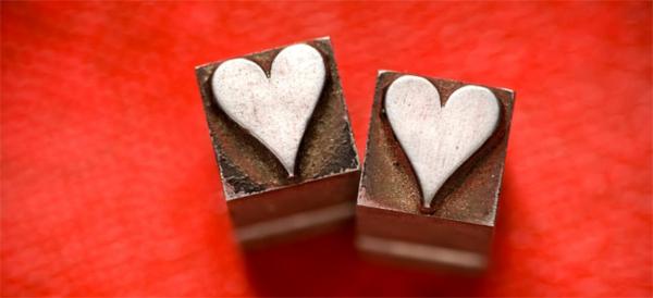 romantischeliebe inspiration -  zwei süße herzen