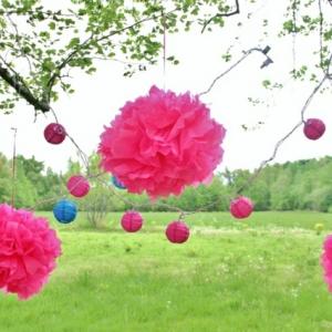 Fantastische Deko Ideen für eine Gartenparty !
