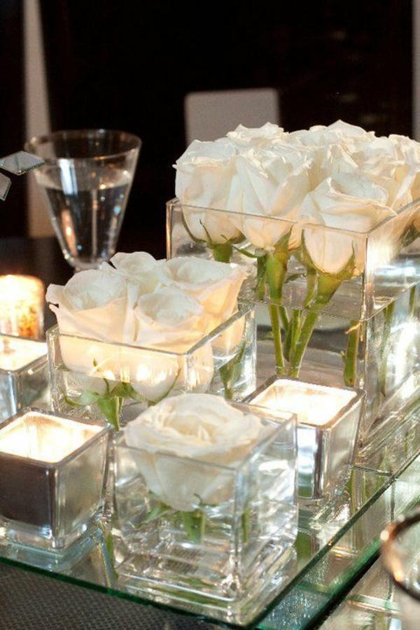 Romantische Bilder Mit Kerzen Und Rosen Raum Und