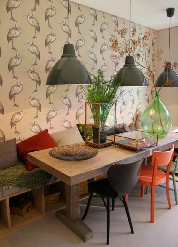 schöne-einrichtung-eine-schöne-holzbank-im-esszimmer-interior-design-ideen