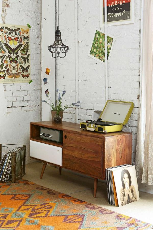 schöne-einrichtungsideen-mit-vintage-möbeln-design-idee-