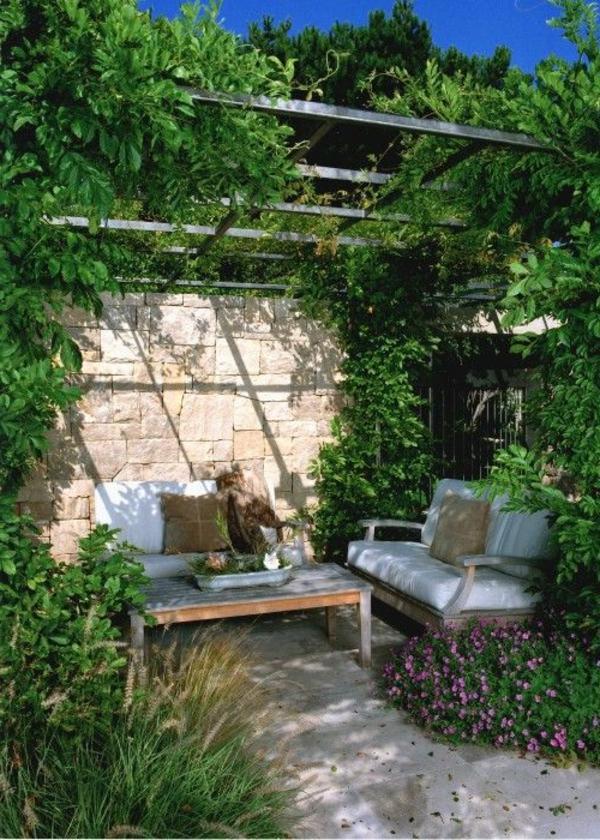 sitzecke im garten relax im gr252nen