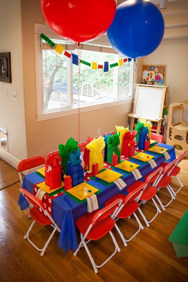 Wunderbare tischdeko zum kindergeburtstag for Dekoration wohnung petrol