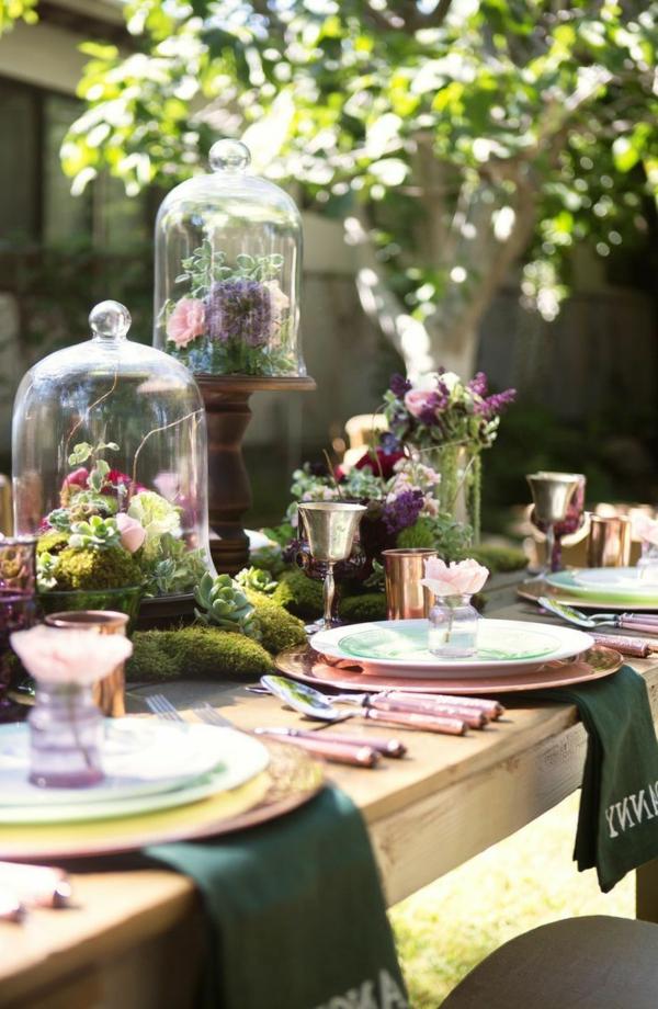 Fantastische deko ideen f r eine gartenparty - Gartenparty tischdeko sommer ...