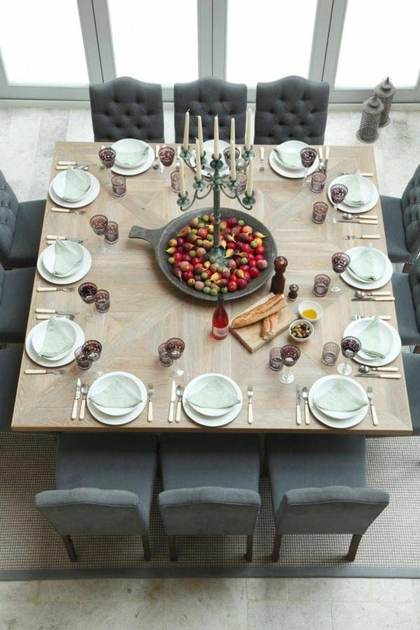 Quadratischer tisch sehr sch ne modelle for Tisch essen