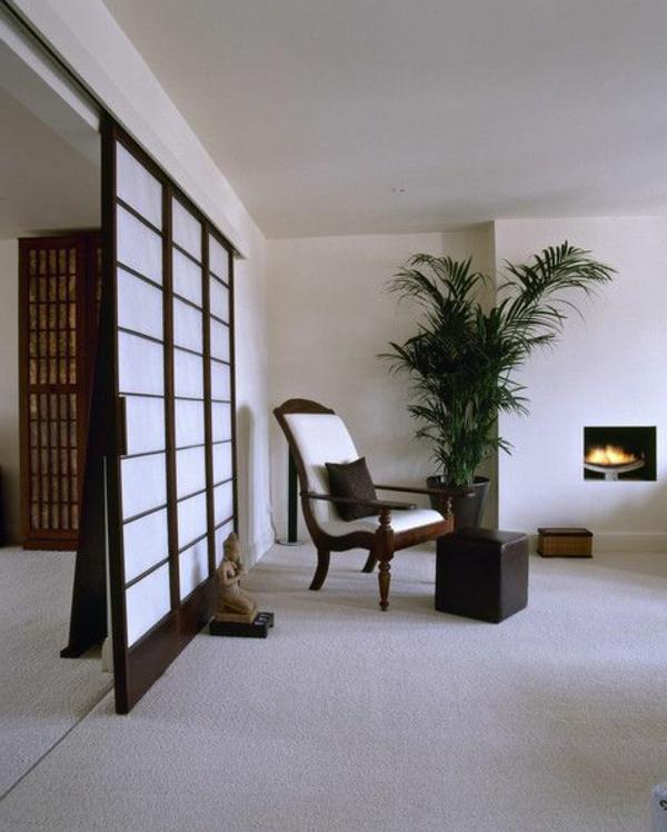 schöner-wohnraum-japanische-schiebetüren- ein sehr schönes und cooles bild