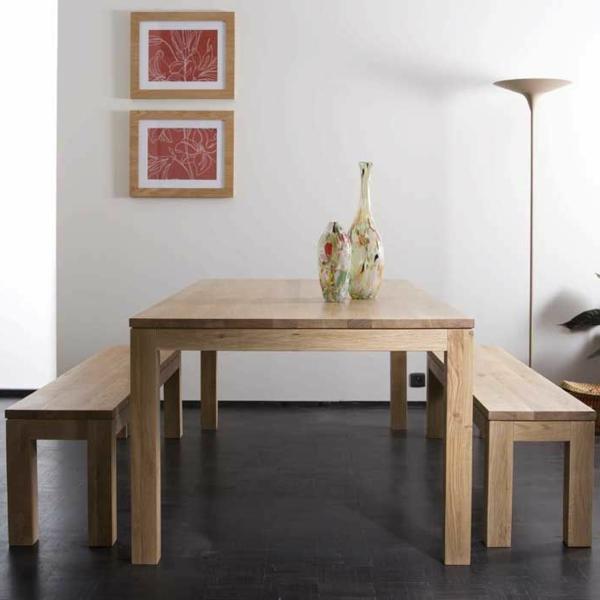 schönes---interior-design-ideen-sitzbank-holz-im-esszimmer