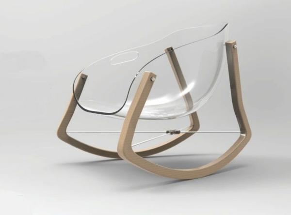 Schaukelstuhl 30 effektvolle modelle - Designer schaukelstuhl ...