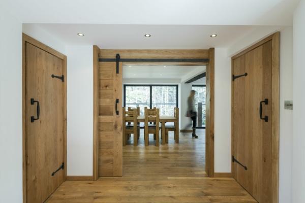 Schiebetüren aus Holz - eine tolle Option für den Wohnraum ...