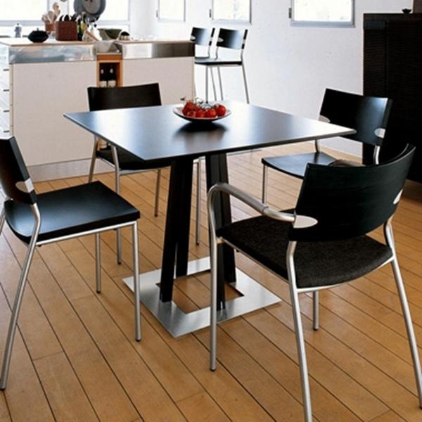 quadratischer tisch: sehr schöne modelle! - archzine, Esszimmer dekoo