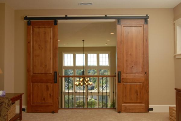 schiebetüren-holz-moderne-innentüren-holz--gleittüren-design-idee