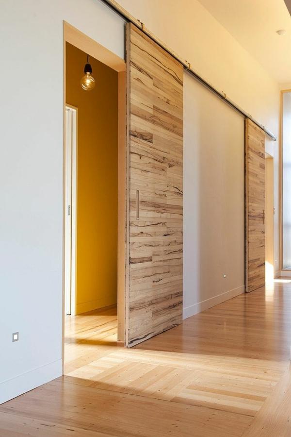 Schiebeturen Aus Holz Eine Tolle Option Fur Den Wohnraum