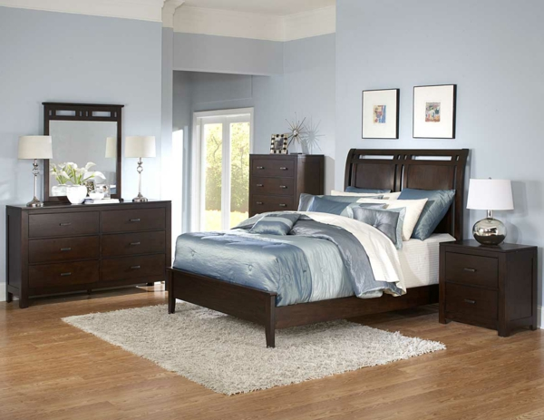 Schlafzimmer Tapeten Vorschl?ge : 30 interessante Vorschl?ge f?r Tapeten im Schlafzimmer