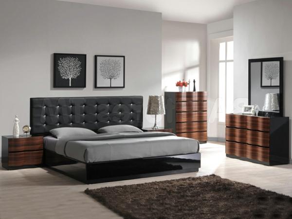 Inneneinrichtung Ideen Tapeten : schlafzimmer-inspiration-ideen-zu-moderner-gestaltung–innendesign