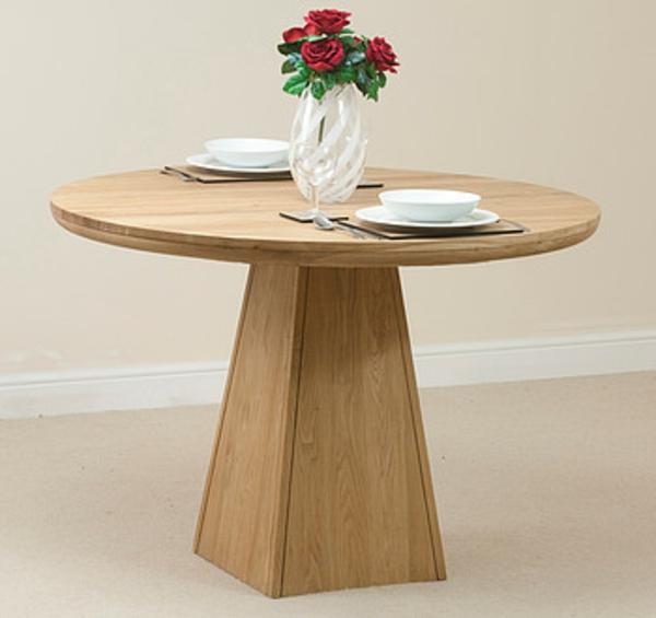 Runder Tisch - kleines elegantes hölzernes modell
