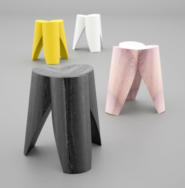 schwedisches Möbel - sehr extravagant aussehende hocker