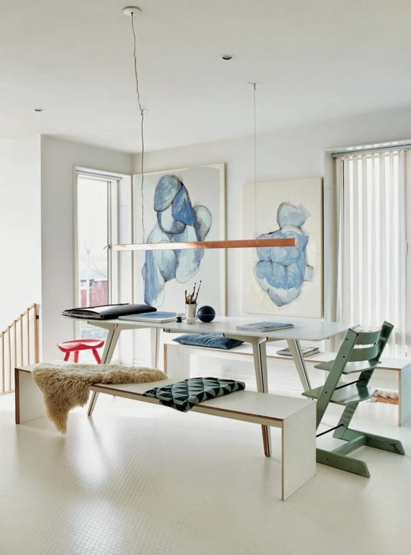 ein faszinierendes esszimmer einrichten - 66 ideen ! - archzine, Wohnideen design