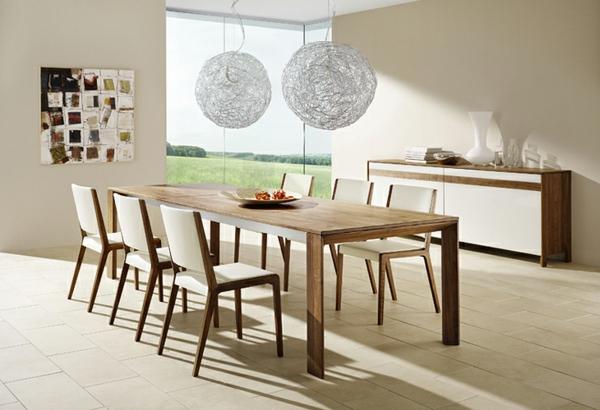 stilvolles-esszimmer-möbelset-esszimmerstühle-esszimmertisch-design-ideen