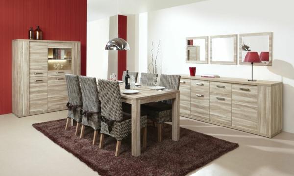 -stilvolles-esszimmer-möbelset-esszimmerstühle-esszimmertisch-design-ideen